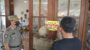 Tak Kantongi Izin, Rumah Makan di Kota Mojokerto Disegel Satpol PP