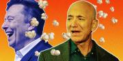 Elon Musk Mengejek Jeff Bezos Karena Kembangkan Teknologi Hidup Kekal