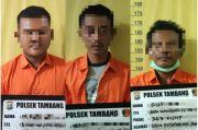 Komplotan Pencuri Material Proyek Jalan Tol Pekanbaru Ditangkap