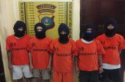 Gasak Genset dan Becak, Komplotan Maling Remaja Tak Berkutik Diringkus Polisi