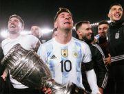 Lionel Messi Terharu karena Terlalu Lama Menunggu Sukses di Argentina