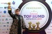 Bupati dan BPR Serang Raih Top BUMD Award 2021