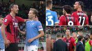 Liga Italia: Ibrahimovic Cengkram Tengkuk Lucas Leiva