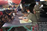 Langgar Prokes, 4 Rumah Makan di Jakbar Ditindak Petugas