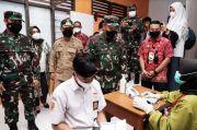 Gandeng Kodim 1409, Pemkab Gowa Vaksin 5.250 Pelajar di Tujuh Lokasi