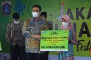 Baznas Bazis DKI Beri Santunan Rp5,8 Miliar untuk 5.897 Anak Yatim dan Dhuafa