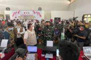 KSAL Tinjau Serbuan Vaksinasi untuk 10 Ribu Orang di Kotabaru Kalsel