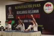 Relawan Jokowi Dukung Ganjar Pranowo-Erick Thohir Jadi Capres-Cawapres