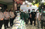 Peduli Bencana Banjir Lebak, Leppami PB HMI dan Polri Salurkan Bantuan ke Warga