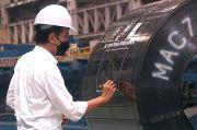 Jokowi Pede Produksi Baja Bisa Tembus 10 Juta Ton Setahun
