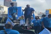 Bela Anies, KNPI Jakpus Geruduk PSI Desak Giring Minta Maaf