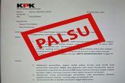 KPK Pastikan Surat Penyelidikan di Gowa Palsu