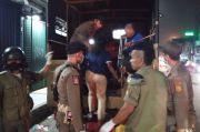 Puluhan Gelandangan dan Manusia Gerobak Terjaring Razia di Bekasi
