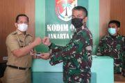 HUT Ke-76 TNI, Pemkot Jakut Datangi Markas Kodim 0502 JU