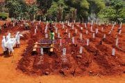 Patut Disyukuri! Seharian Ini Tak Ada Permintaan Pemakaman Covid-19 di Jakarta