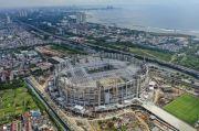 Stadion JIS Dikebut Sambut Laga Sepak Bola Internasional pada 10 Desember 2021
