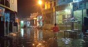 Ribuan Rumah dan Jalan di Kota Medan Terendam Banjir Rob