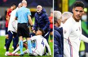 Hasil Spanyol vs Prancis: Raphael Varane Cedera, Babak Pertama Temui Kebuntuan