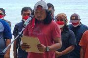 23 Napi Teroris Poso Ikrar Sumpah Setia NKRI di Pinggir Pantai Iyato