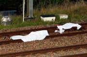 Horor, 3 Migran Tewas Ditabrak Kereta Saat Tidur di Rel
