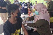 Vaksinasi Covid-19 di SMP Negeri 6 Mandai, 350 Dosis Disiapkan