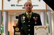 Kostrad Pamerkan Lettu CPM Ryanda Catur, Siswa Terbaik Sekolah Polisi Militer AS