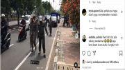Satpol PP Bersih-bersih Ranjau Paku, Warganet: Tambal Bannya Ditertibkan juga Pak