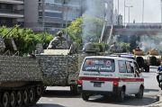Beirut Memanas, Tank-tank Lalu Lalang di Jalanan