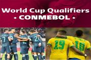 Hasil Pertandingan dan Klasemen CONMEBOL: Brasil Jaga Kesucian, Argentina Meneror