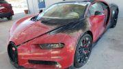 Bekas Terbakar, Bugatti Chiron Masih Dijual di Harga Rp48,4 Miliar