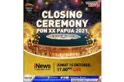 Artis Ternama Ikut Meriahkan Upacara Penutupan PON XX Papua 2021