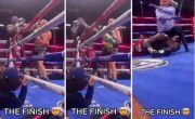 Brutal! Tyson Fury Meng-KO Deontay Wilder dari Sisi Ring