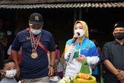 Atalia Ridwan Kamil Kunjungi Kediaman Peraih Tiga Medali Emas PON