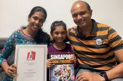 Gadis Umur 6 Tahun Pecahkan Rekor Hafalan Pi Singapura, Mengingat 1.560 Digit
