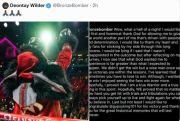 Makna Tersembunyi Pesan Emosional Deontay Wilder kepada Tyson Fury