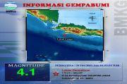 Gempa Guncang Sukabumi, Benda-benda Ringan yang Digantung Bergoyang