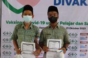 Peringati Hari Santri 2021, NU CARE dan Indomaret Gelar Vaksinasi 2 Ribu Santri di Tangerang