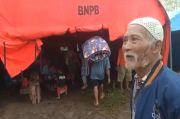 Tanah Gerak Rusak Rumah Warga Sukabumi, Puluhan Orang Terpaksa Mengungsi
