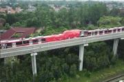 Baru Diuji Coba, 2 Kereta LRT Seharga Rp250 Miliar Rusak