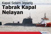 Kapal Selam Jepang Bertabrakan dengan Kapal Nelayan