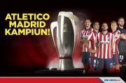 Laga Pemungkas La Liga 2020/2021: Atletico Madrid Kampiun!