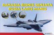 Perang untuk Uji Senjata, Bisnis Senjata Rusia Laris Manis