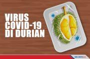 China Temukan Covid-19 di Paket Buah Durian dari Thailand