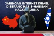 Jaringan Internet Israel diserang Habis-Habisan Hacker China