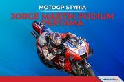 Hasil Balapan MotoGP Styria 2021 Jorge Martin Menang