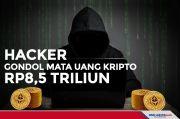 Hacker Sukses Gondol Mata Uang Kripto Senilai Rp8,5 Triliun