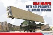 Canggih, Senjata Iran Mampu Mendeteksi Pesawat Siluman Musuh