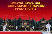 11 Daerah Masih Harus Menjalankan PPKM Level 4 di Jawa-Bali