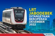 Progres LRT Jabodebek yang Ditargetkan Beroperasi Desember 2022