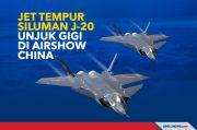 Jet Tempur Siluman J-20 Akan Unjuk Gigi di Airshow China